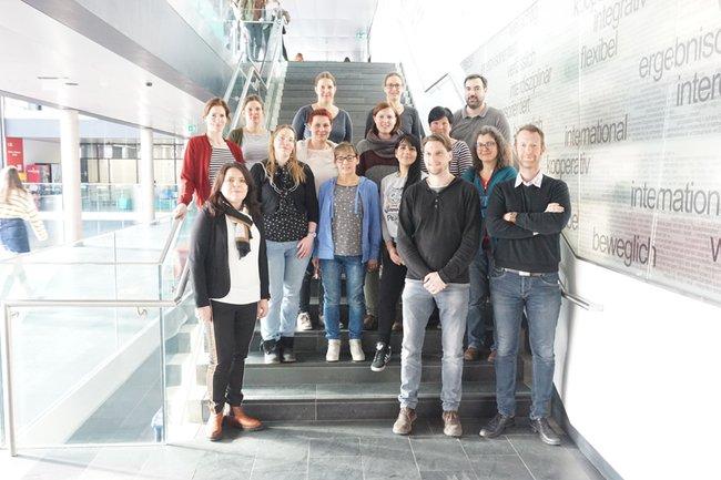 TeilnehmerInnen am Theorie-Praxis-Transfer im Department Gesundheit an der FH St. Pölten
