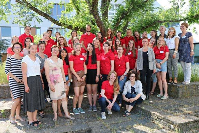 Insgesamt 25 TeilnehmerInnen aus 4 Ländern sowie 12 Dozentinnen nahmen an der ISP in Neubrandenburg teil.